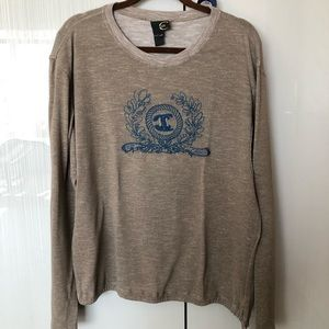 Just Cavalli long sleeve sweater with ties